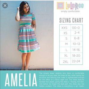 LuLaRoe Dresses - BNWT Lularoe Colorblock Amelia Dress